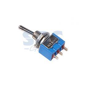 Однополюсный тумблер 250V 3А (3c) ON-ON Micro (MTS-102)