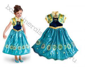 Платье костюм Анны летнее Холодное сердце