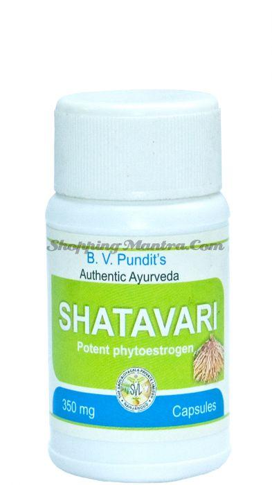 Шатавари для женского здоровья B.V.Pundit Shatavari Capsules
