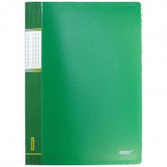Папка с пр.вставк./40 Proff  DB40АВ-03  зеленая.0,65мм