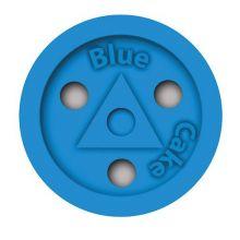 Шайба Blue Cake для стрит-хоккея пластиковая