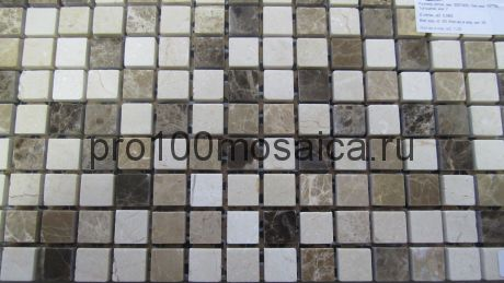 Turin 15 slim POL камень. Мозаика серия STONE,  размер, мм: 305*305*4 (BONAPARTE)