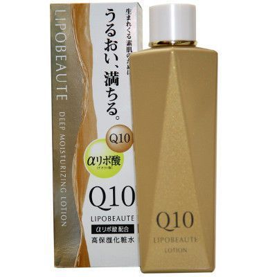 Японский лосьон-лифтинг увлажняющий против морщин Naris Cosmetics Lipobeaute Q10