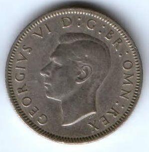 1 пенни 1947 г. редкий год Великобритания