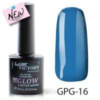 Люминесцентный гель-лак GPG-16 Lady Victory, 7,3 мл