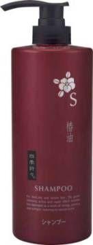 Японский шампунь для сухих и сильно поврежденных волос c экстрактом камелии Deev Shiki-Oriori