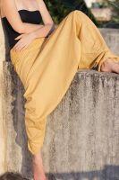 Однотонные женские штаны алладины мелким оптом, Индия