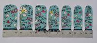 Лаковая пленка для дизайна ногтей, S1155