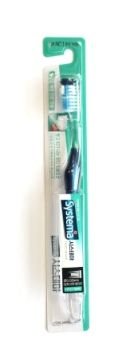 Корейская зубная щетка Dentor Systema Двойного действия, средней жесткости CJ Lion