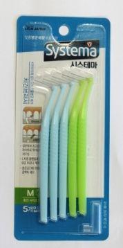 Корейская межзубная щетка от зубного камня Dentor Systema CJ Lion