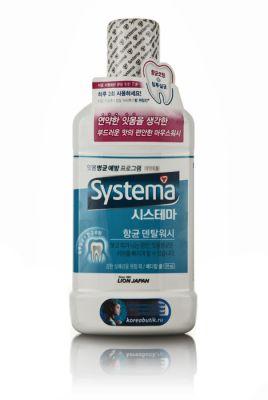 Корейский ополаскиватель д/рта Dentor Systema Интенсивная прохлада CJ Lion