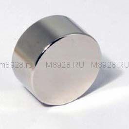 Магнит 30х10 неодимовый N33 (23кг)