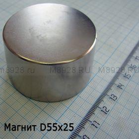 Магнит  55х25 (100кг)