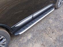 Боковые подножки ТСС, алюминий с пластик. накладкой