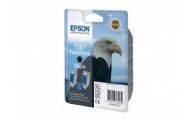 Набор из двух черных картриджей для Epson Stylus Photo 790, 870, 890, 895, 900, 915, 1270, 1290