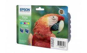 Набор из двух картриджей с цветными чернилами для Epson Stylus Photo 870, 790, 890, 895, 915