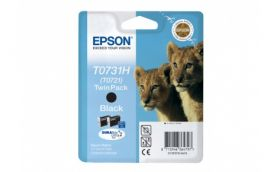 Набор из двух черных картриджей увеличенной емкости для Epson Stylus TX550W / T40W / TX600FW / T30 / TX510FN / T1100