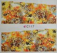Водная наклейка для дизайна ногтей С117