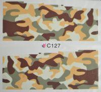 Водная наклейка для дизайна ногтей С127