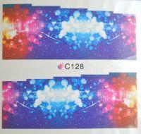 Водная наклейка для дизайна ногтей С128