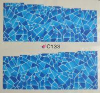 Водная наклейка для дизайна ногтей С 133