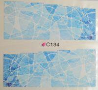 Водная наклейка для дизайна ногтей С 134