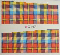 Водная наклейка для дизайна ногтей С 147