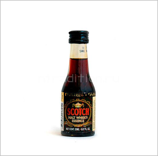 """UP Scotch Malt Whisky Essence 20 ml (эссенция для самогона """"Шотландский Солодовый Виски"""")"""