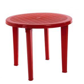 Стол пластиковый круглый D950