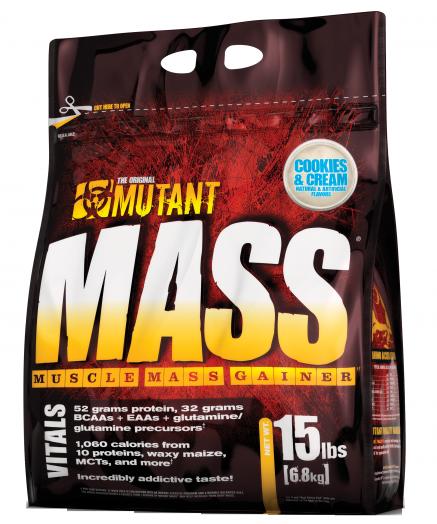 MUTANT Mutant Mass 15lb (6,8кг.) Cookies&Cream - печенье