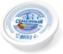 """Зубной порошок """"Семейный"""", 75г"""
