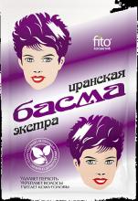 """""""fito косметик"""" Басма натуральная иранская, в бумажной упаковке, 25г"""