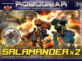 SALAMANDER. Линейная шагающая танкетка.