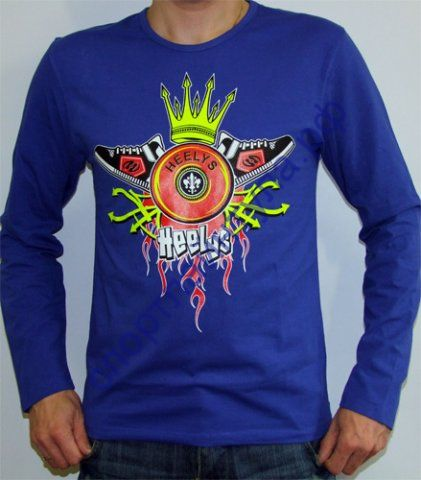 Футболка мужская King Long Sleeve Blue, арт. 4312