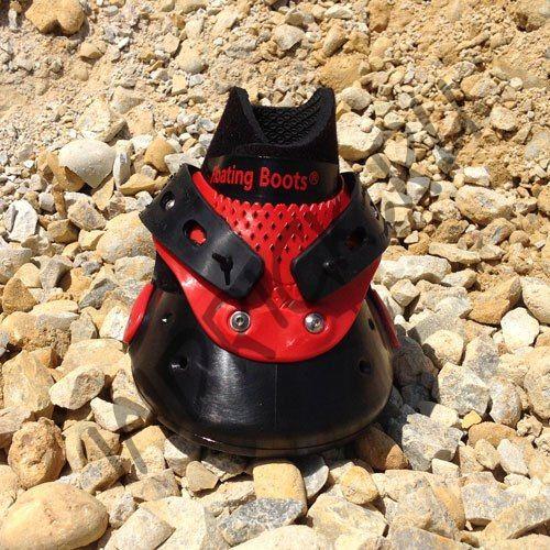 Ботинки Floating Boots, красный + черный
