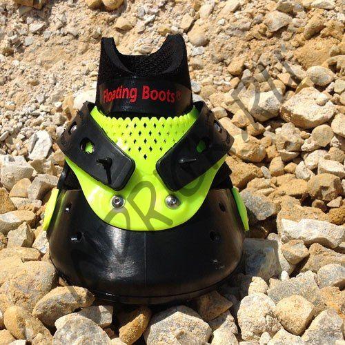 Ботинки Floating Boots, желтый + черный