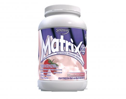 SYNTRAX Matrix 2.0 (907гр.) - клубничный крем