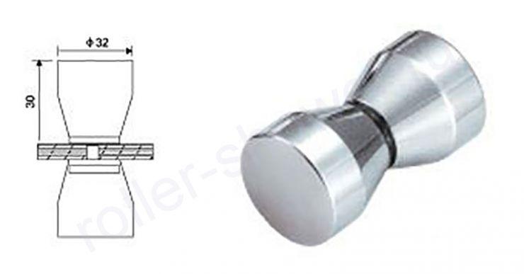 Ручка для душевой кабины L016