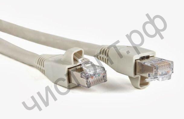 Патч-корд литой UTP Кат.5Е 5,0м серый для соединен. комп в сеть