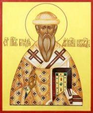 Геннадий Новгородский (рукописная икона)