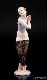 Танцовщица АртДеко, Hutschenreuther, Германия, 1950-60 гг., артикул 01822
