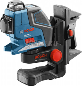 BOSCH GLL 3-80 P + BM1 + L-Boxx - Лазерный нивелир