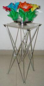 Складной столик (размер столешницы: 35X35см, высота 83 см)