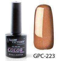 Цветной гель-лак Lady Victory, 7,3 ml GPC-223