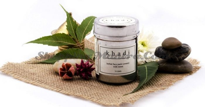 Крем-маска против прыщей с ним Кхади / Khadi Herbal Face Pack with Neem (cream)