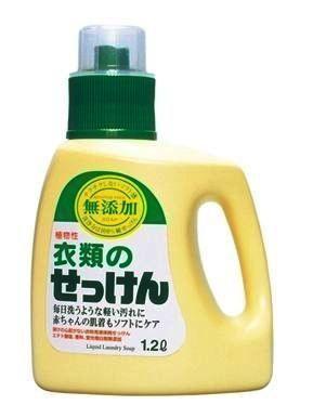 010037 Жидкое средство  для стирки основе натуральных компонентов (для изделий из хлопка), 1200 ml