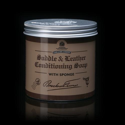 Brecknell Turner Saddle Soap / Седельное мыло с воском. Carr&Day&Martin. Матирует кожу.
