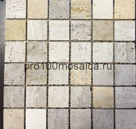 К-718 камень. Мозаика серия STONE,  размер, мм: 298*298 (NS Mosaic)