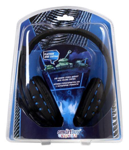 Мониторные наушники с микрофоном SmartBuy® PLATOON AMX Edition, USB (SBH-8500)