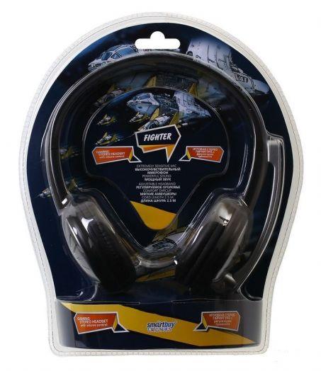 Мониторные наушники с микрофоном SmartBuy® FIGHTER (арт.SBH-7500)